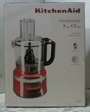 NEW OPEN BOX KitchenAid KFP0718ER 7-Cup Food Processor, Empire Red $169.99