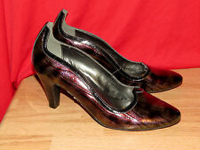 ANDIAMO Wave METALLIC MYSTERY Pumps Classics Sexy High Heels Womens Shoes Sz 6 @