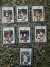1989 collegiate collection Michael Jordan North Carolina Basketball set