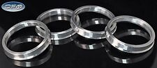 4PC ALUMINUM HUB CENTRIC RINGS 63.4MM CAR HUB TO 73.1MM WHEEL BORE FITS FORD