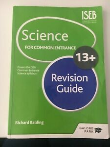 Science for Common Entrance 13+ Revision Guide - Richard Balding