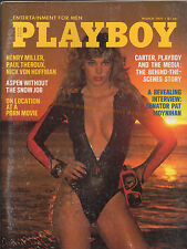 PLAYBOY March 1977-On Location At Porn Movie, Henry Miller, Pat Moynahan Intvw