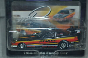 """Action Mike Dunn """"Pisano"""" 1992 Oldsmobile NHRA Funny Car, 1:64 Scale"""