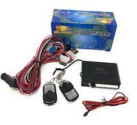 Plug&Play Funkfernbedienung mit 2 Chrom Sender passgenau für VW Golf 3 Cabrio