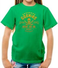 Goonies, Never Say Die Kids T-Shirt - Film - One Eyed Willy - Chunk - Mikey