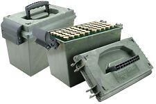 MTM 100 Round 12 Gauge Shotshell Dry Box ( shotgun shells storage hunting lock )