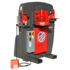 BRAND NEW EDWARDS 60 TON IRON WORKER - PLUS 9 ROUND PUNCH & DIE SETS -TOP SELLER
