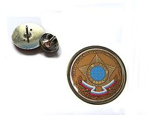 RUSSIA RUSSIAN FOREIGN INTELLIGENCE SVR KGB LAPEL PIN BADGE GIFT