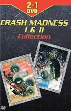 Clear Channel Motorsports: Crash Madness I & II (DVD, 2005) Monster Trucks