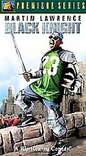 Black Knight Martin Lawrence 2002 VHS PG-13 Premiere Series 2004705 Gil Junger*^