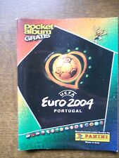 PANINI  EMPTY POCKET ALBUM EURO 2004 PORTUGAL