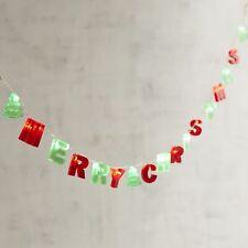 Merry Christmas 5' LED Glimmer Strings
