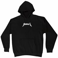 """Yeezus"" Custom Black Hooded Sweater Glastonbury Hoodie Boost Kanye Yeezy YE New"