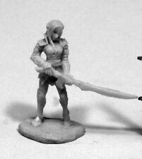 1x FLARA VALE ELF SWORDSMAN - BONES REAPER figurine miniature jdr rpg d&d 77409