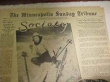Lone Lake Ski Club, Shady Oak Road, Hopkins Mn, February 6, 1938 article
