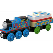 Thomas & Friends Wooden BIRTHDAY THOMAS- BRAND NEW IN PACKAGE
