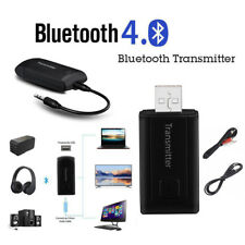 USB Wireless Bluetooth V4 Transmitter Stereo Audio Music Adapter For TV PC Y1X2