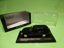 MINICHAMPS   1:43 - MERCEDES E-KLASSE  T MODELL    - MINT CONDITION IN BOX