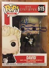 Kiefer Sutherland Signed The Lost Boys Funko Pop #615 DAVID Certificate HOLO