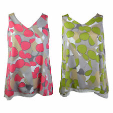 Classic Geometric Polyester Tops & Shirts Plus Size for Women