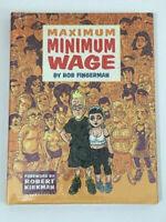 Maximum Minimum Wage Hardcover Graphic Novel