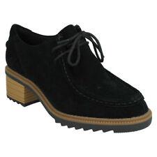 Clarks Suede Upper Block Casual Heels for Women