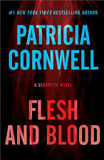 Flesh And Blood Patricia Cornwell Hardcover Large Print Core Series Type NEW