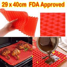PYRAMAT® Large Pyramid Pan Non Stick Silicone Cooking Mat Oven Baking Tray