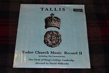 Thomas Tallis~Tudor Church Music~Record II~Argo ZRG-5479~IMPORT~FAST SHIPPING