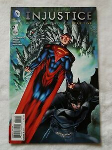 Injustice Gods Among Us :Year Five #1 DC Comics Comic Book.    Book is New