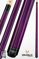 Valhalla by Viking 2 Piece Pool Cue with case - Purple - Lifetime Warranty!