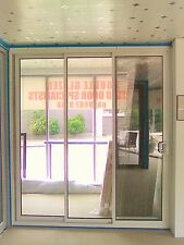 SLIDING DOOR | ALUMINIUM - DOUBLE GLAZED - 2110H X 2410W