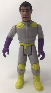 Vtg The Real Ghostbusters Fright Feature Figure Winston Zeddemore Kenner 1987