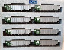 N Scale KATO Bethgon Protein Gondola 'Burlington Northern' (8) Car Set1 106-4650