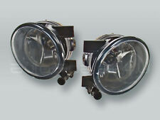 Fog Lights Driving Lamps Assy with bulbs PAIR fits 2012-2017 VW Tiguan
