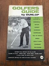 More details for 1966 golfers guide - by dunlop