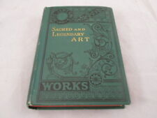 1857 Sacred and Legendary Art Works Book by Mrs. Jameson Volume I 3rd Edition