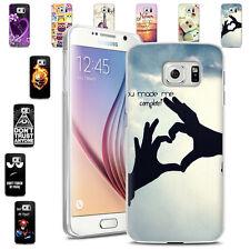 Handy Hülle für Samsung Galaxy Case Schale Tasche Cover Motiv TPU Silikon