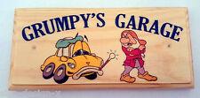 Grumpys garage-Plaque / Signe-Cadeau Fête Pères-Jardin Hangar DAD voiture 222