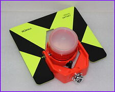 NEW Metal Target Tilt Single Prism W/Bag for SOKKIA Total Stations Green Color