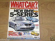 WHAT CAR MAGAZINE AUGUST 2003  FREE UK POSTAGE