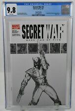 Secret War #2 (2005) CGC Graded 9.8 1st app of Quake 2nd Printing Marvel Comics
