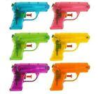 Water Pistols 2 Pack of 10 cm Coloured Water Pistol Summer Fun Water Gun