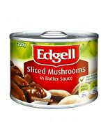 Edgell Mushrooms Butter Sauce 220g