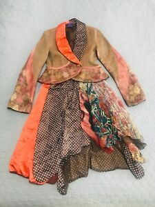 Legatte/Save the Queen jacket and skirt set size S