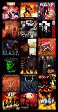 "W.A.S.P. album discography magnet (4.5"" x 3.5"")"