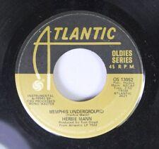 Jazz 45 Herbie Mann - Memphis Underground / Listen Here On Atlantic