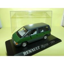 RENAULT ESPACE I Phase 2 1984 Vert UNIVERSAL HOBBIES Collection M6 1:43