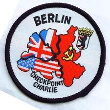 Checkpoint Charlie Berlin écusson patch