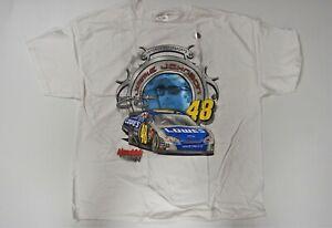 Jimmie Johnson #48 Lowe's 2006 NASCAR Jumbo Print T-shirt - Adult (2XL) XX-Large